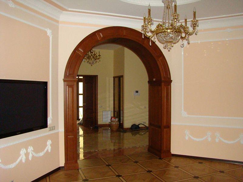 арки на дверь фото