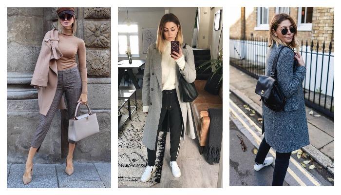 f9c8ca62661 Как стильно носить пальто в 2019 году  20 изумительных образов для модных  красавиц